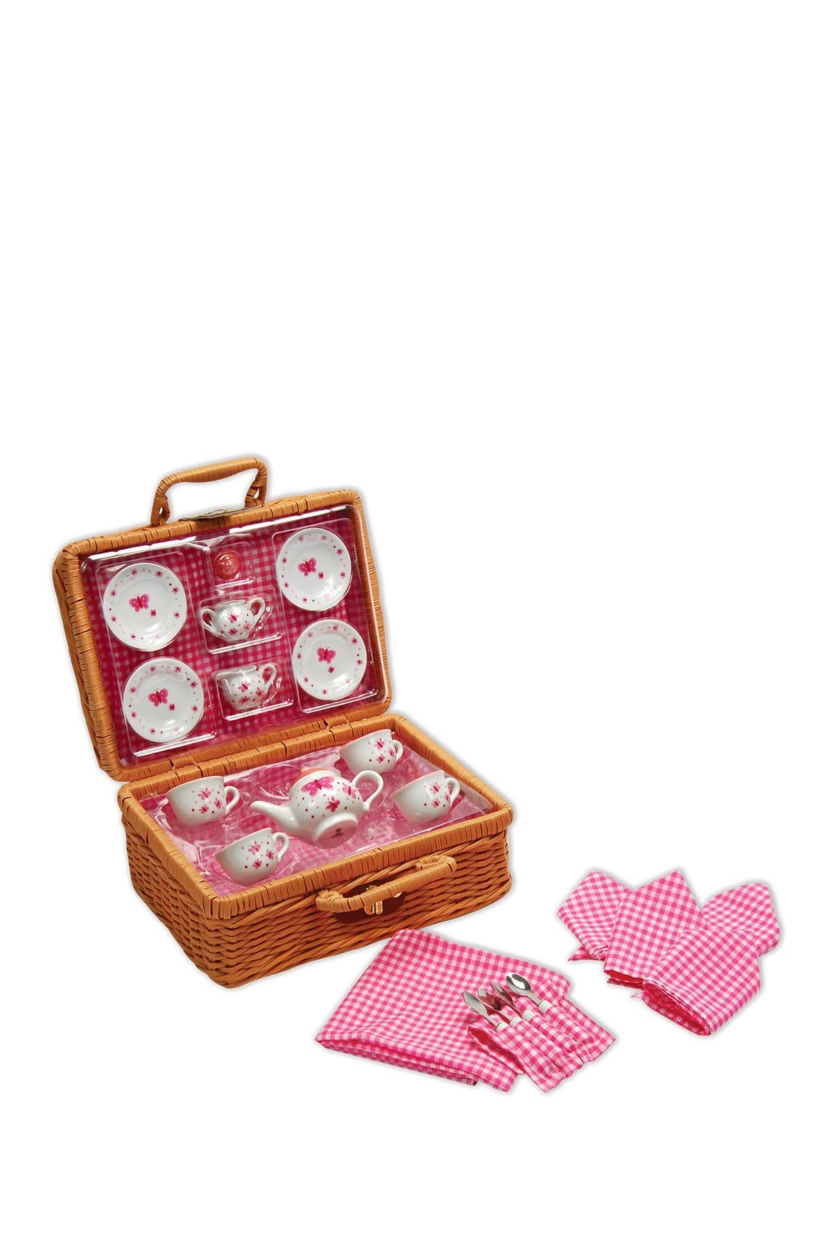 Image of Schylling Butterfly Tea Set Basket