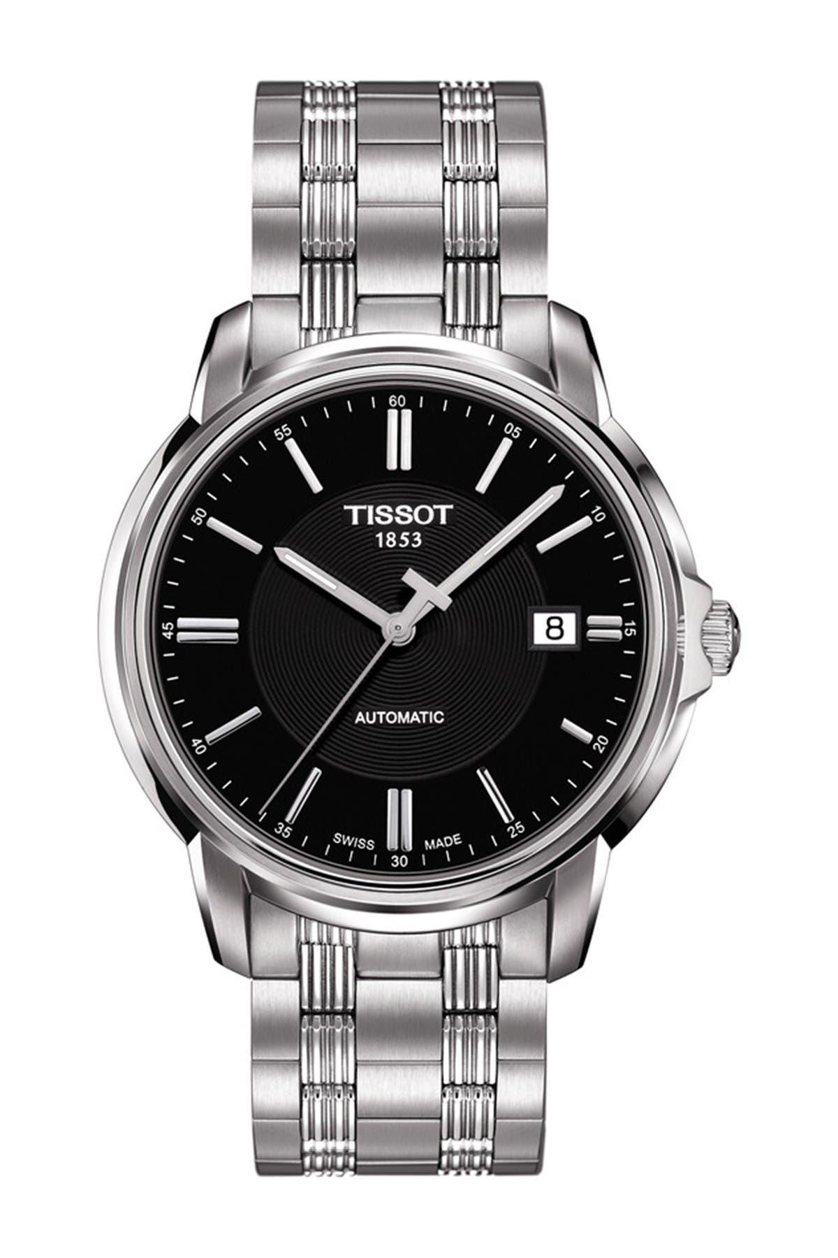 Image of Tissot Men's Automatic III Bracelet Watch, 39mm