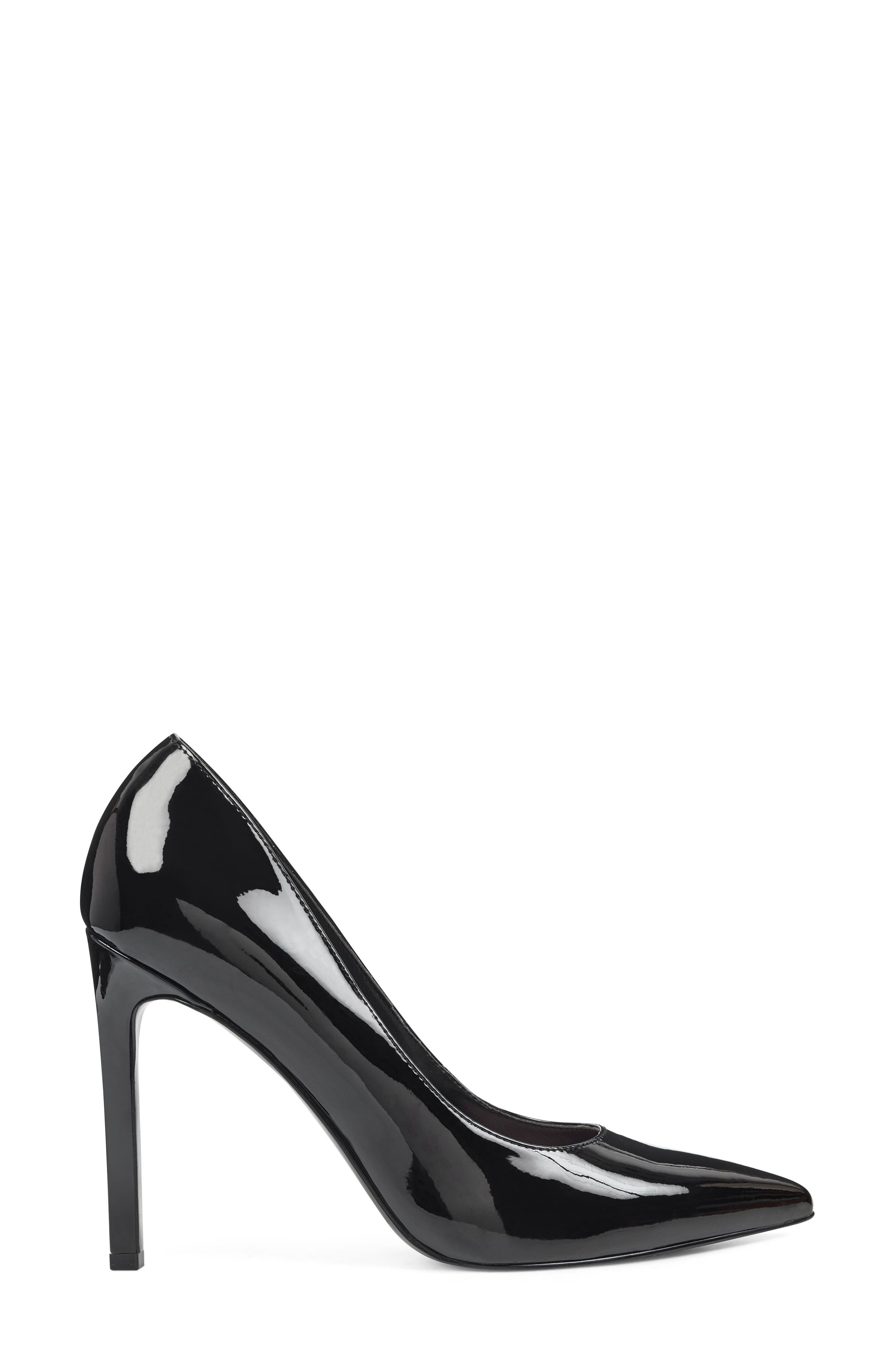 ,                             'Tatiana' Pointy Toe Pump,                             Alternate thumbnail 2, color,                             BLACK PATENT LEATHER