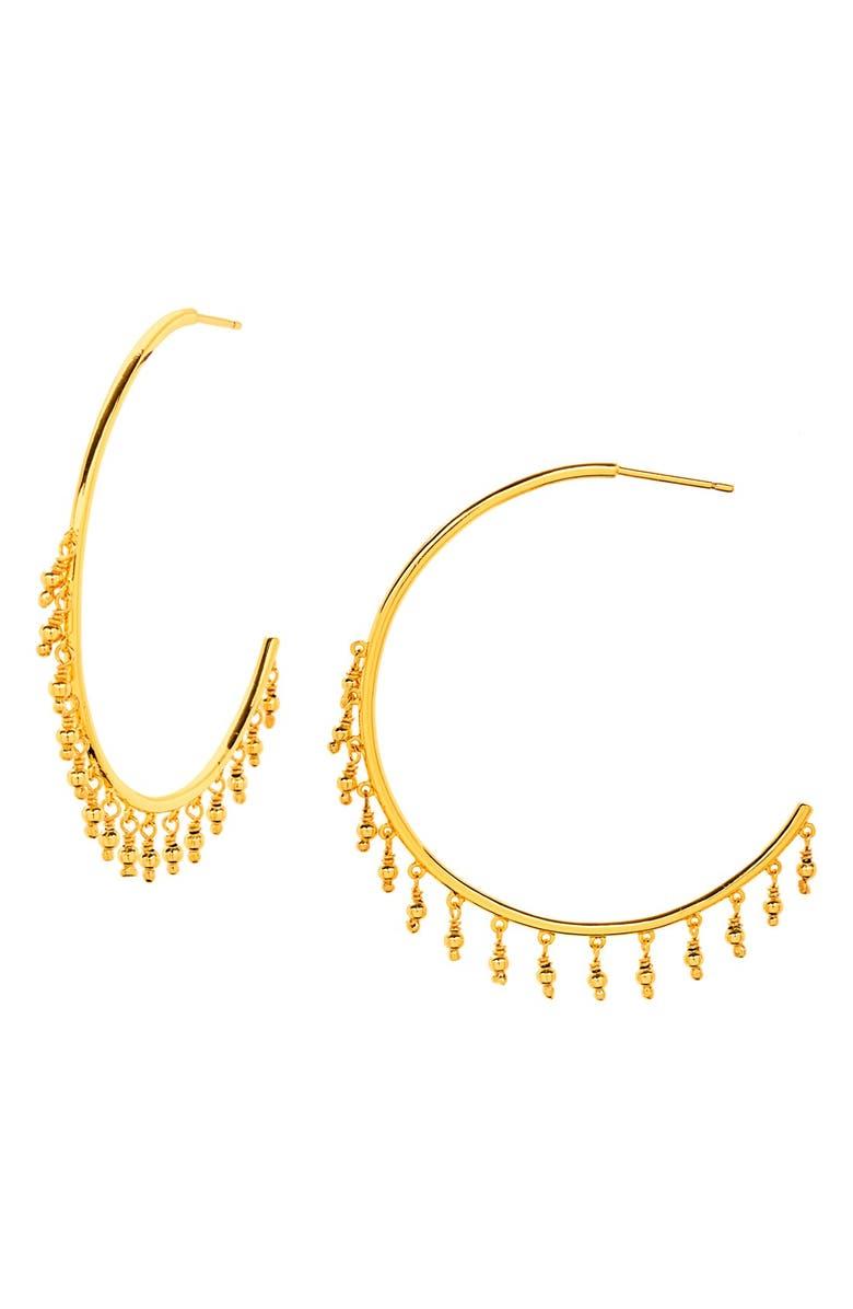 GORJANA 'Sol' Hoop Earrings, Main, color, 710