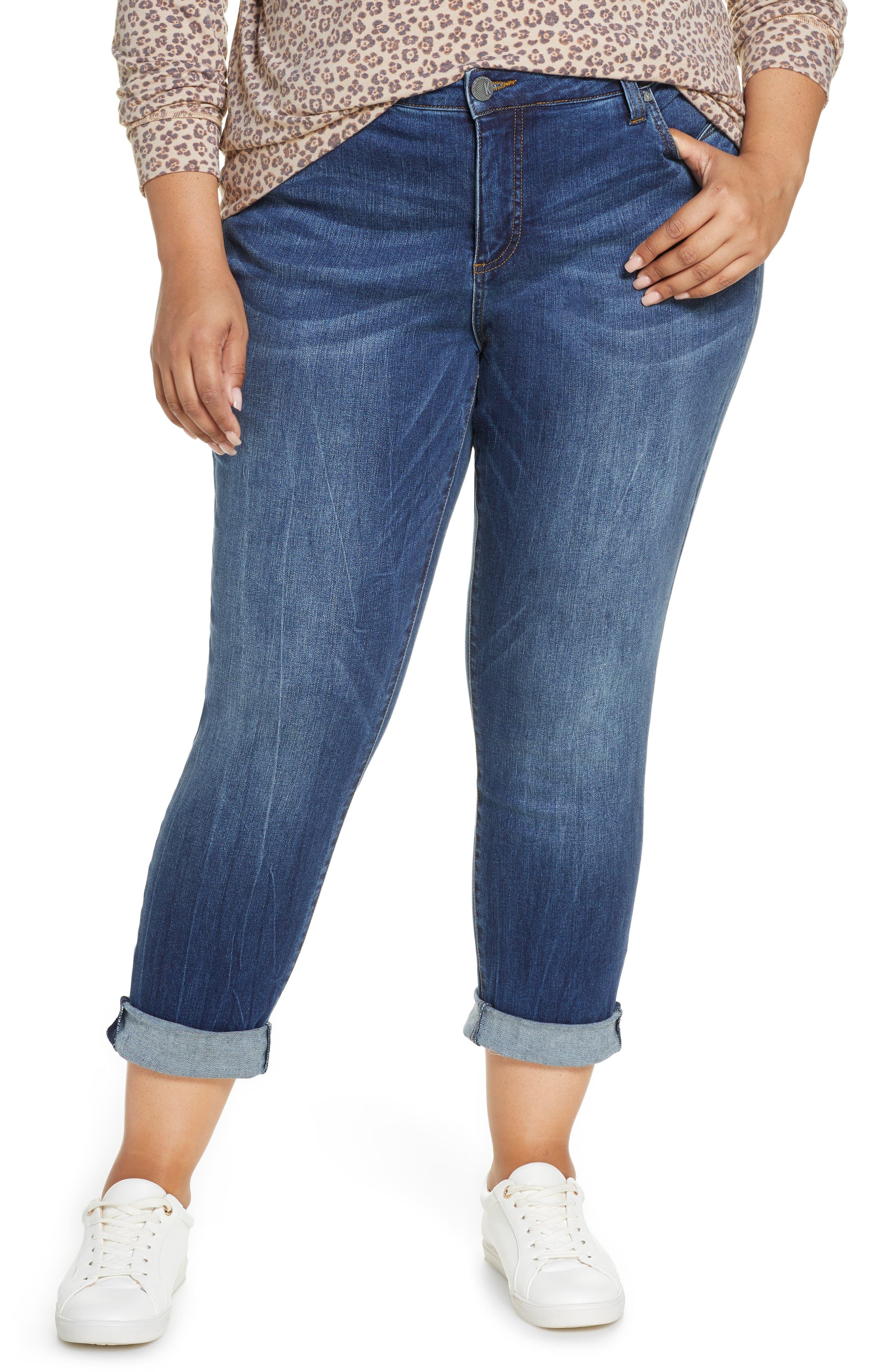KUT from the Kloth Boyfriend Jeans (Plus Size)
