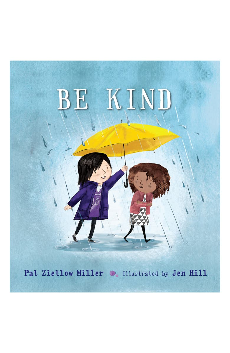 MACMILLAN 'Be Kind' Book, Main, color, LIGHT BLUE/ YELLOW /BEIGE