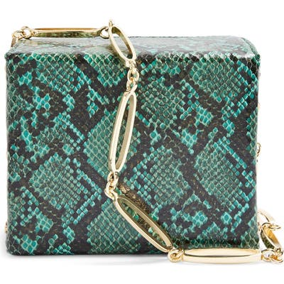 Topshop Malin Boxy Crossbody Bag - Green