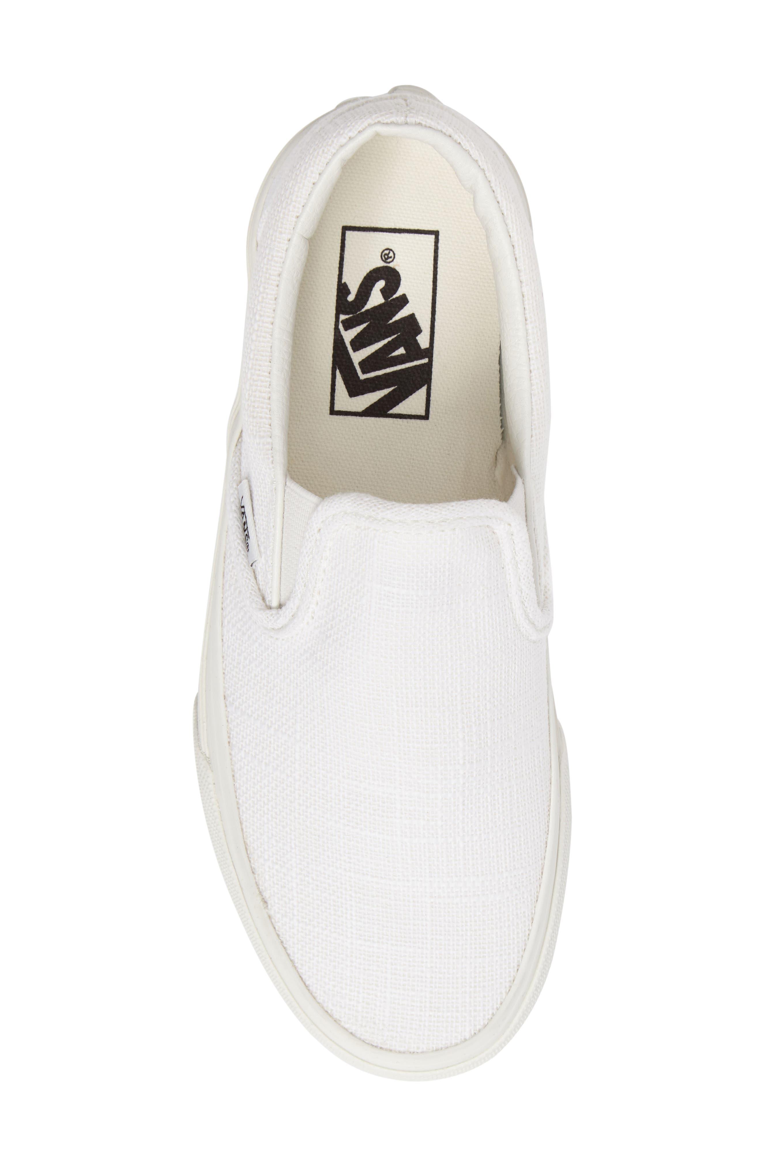 ,                             Classic Slip-On Sneaker,                             Alternate thumbnail 400, color,                             653