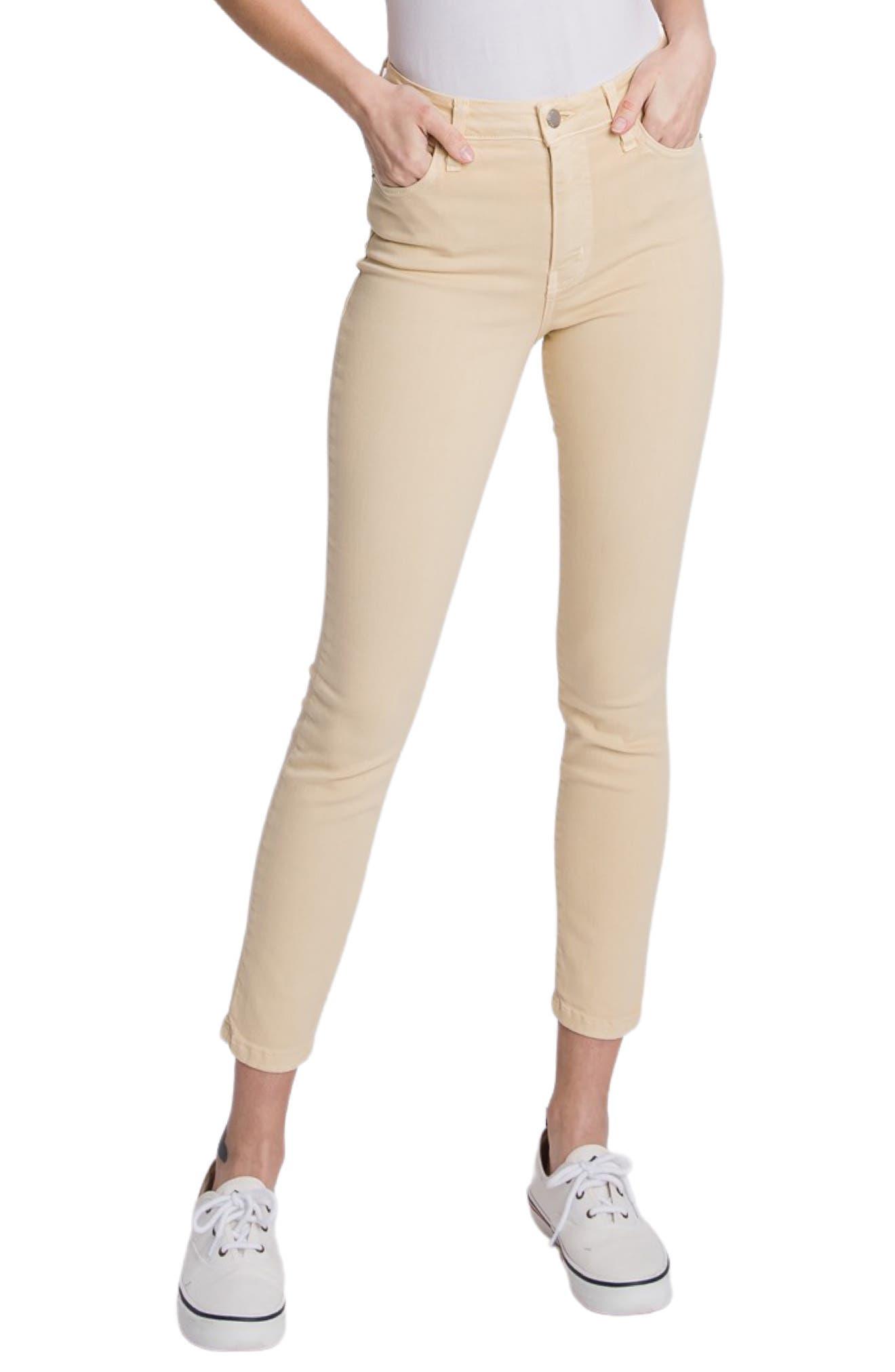 Verona High Waist Crop Skinny Jeans