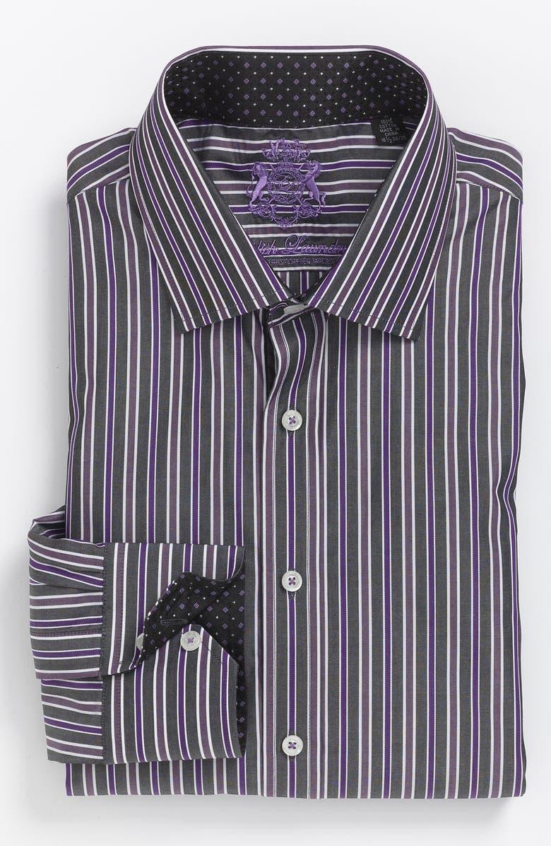 ENGLISH LAUNDRY Trim Fit Dress Shirt, Main, color, 025