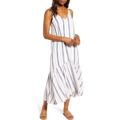 Gibson X The Motherchic Summer Nights Maxi Dress, White