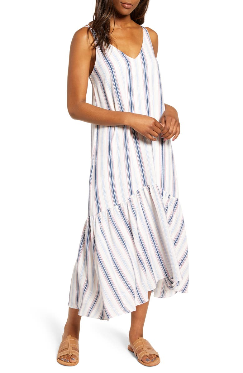 GIBSON x The Motherchic Summer Nights Maxi Dress, Main, color, 118