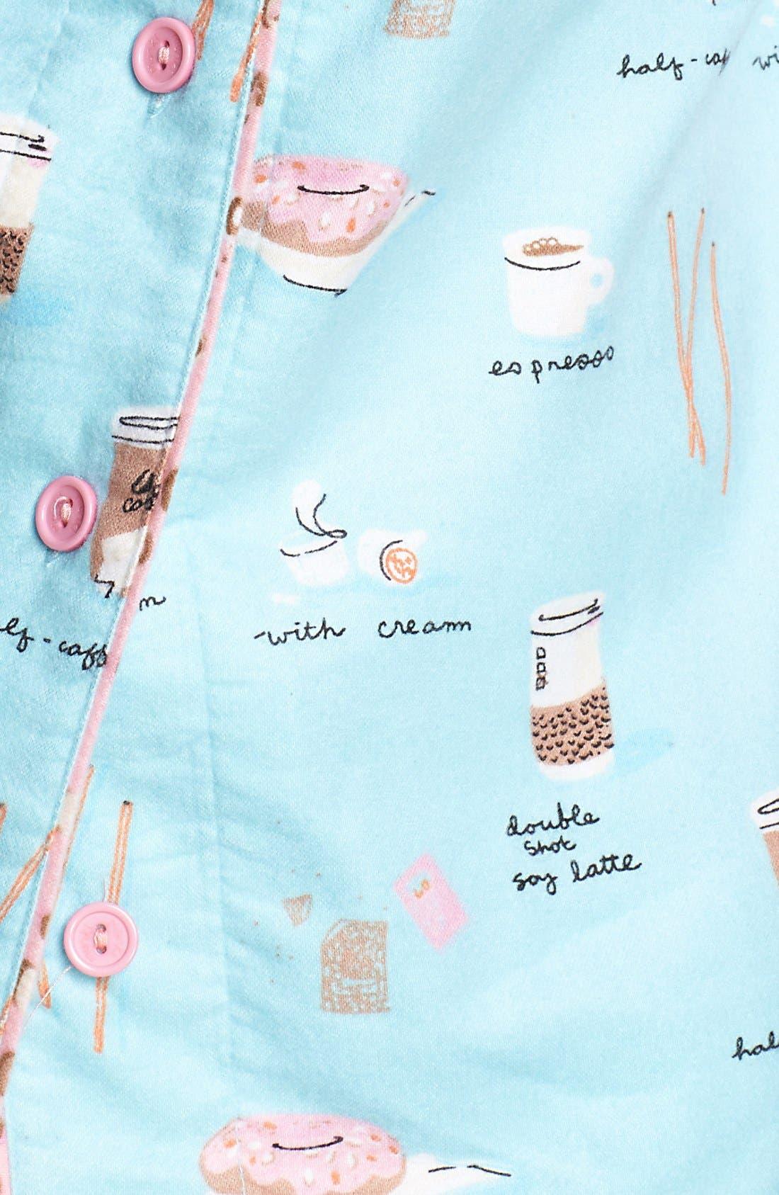 ,                             Flannel Pajamas,                             Alternate thumbnail 50, color,                             452