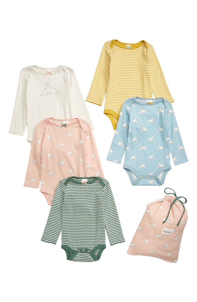 5 Pack Print Bodysuits by Mini Boden