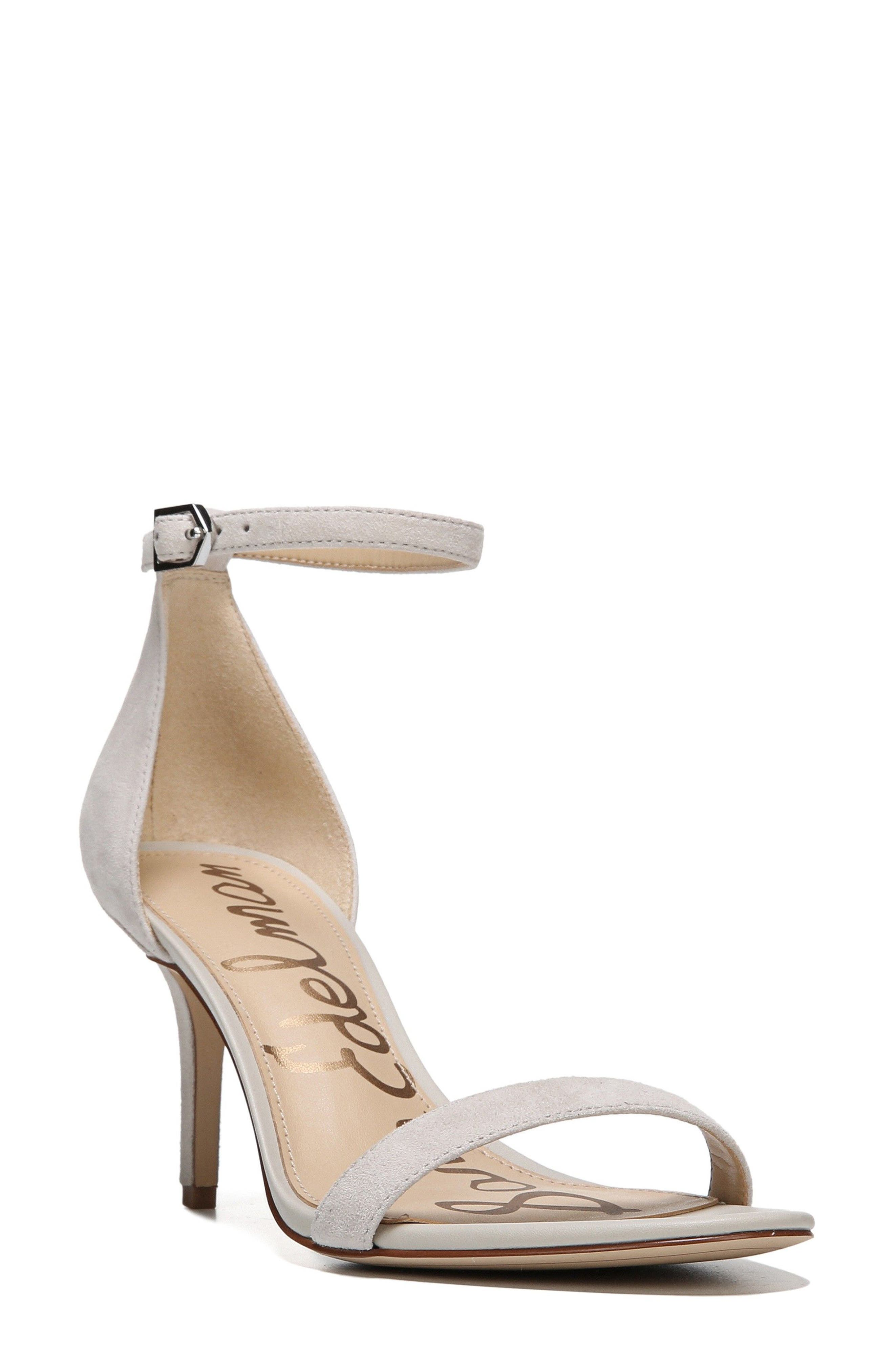 ,                             'Patti' Ankle Strap Sandal,                             Main thumbnail 156, color,                             021
