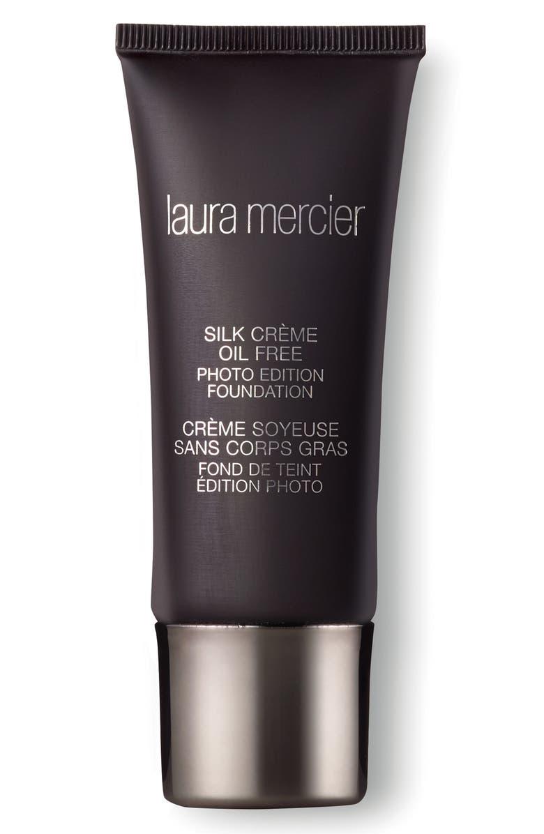 LAURA MERCIER Silk Crème Oil-Free Photo Edition Foundation, Main, color, SUNTAN