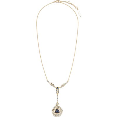 Sole Society Baguette Drama Y-Necklace