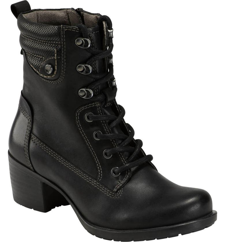 EARTH<SUP>®</SUP> Denali Anchor Boot, Main, color, BLACK NUBUCK LEATHER