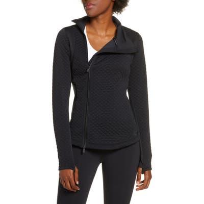 New Balance Heat Loft Quilted Jacket, Black
