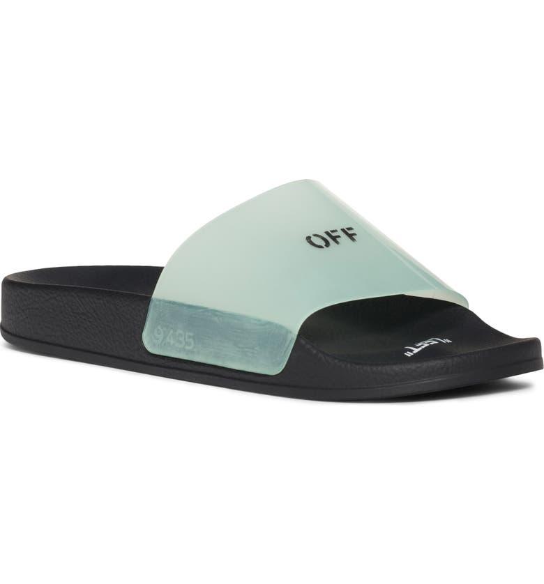 OFF-WHITE Slide Sandal, Main, color, 400