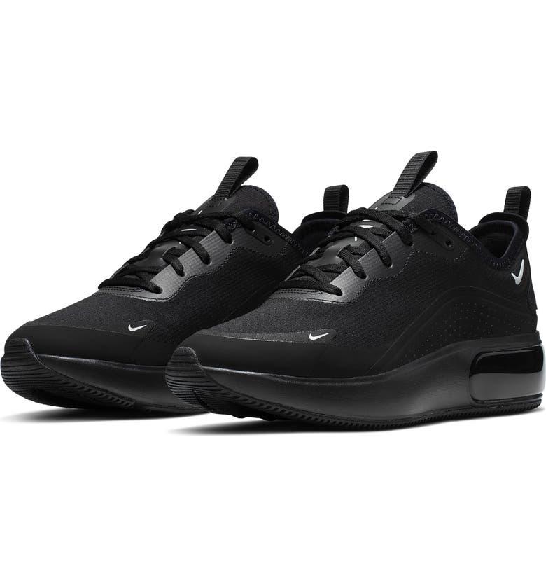 NIKE Air Max Dia Sneaker, Main, color, BLACK/ PLATINUM/ BLACK