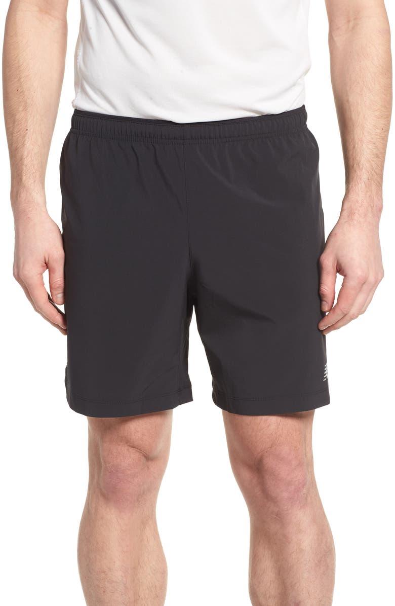 NEW BALANCE Impact Shorts, Main, color, 001