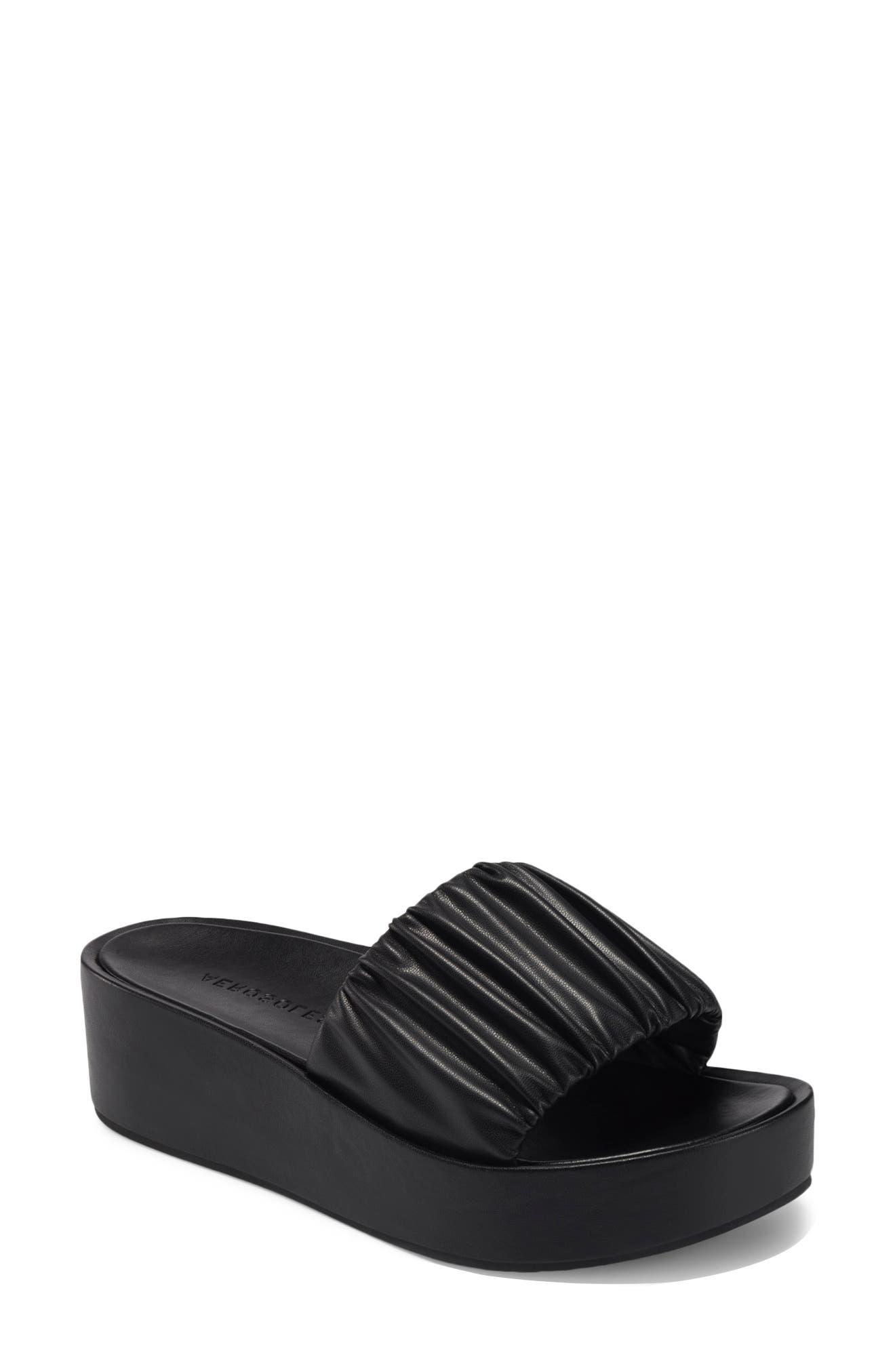 Women's Aerosole Dada Platform Wedge Slide Sandal