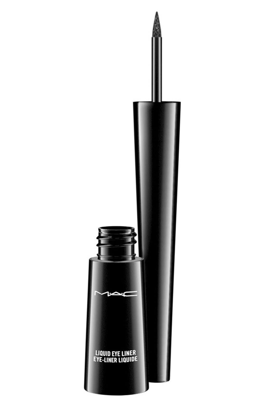 ,                             MAC Liquid Liner,                             Main thumbnail 1, color,                             BOOT BLACK