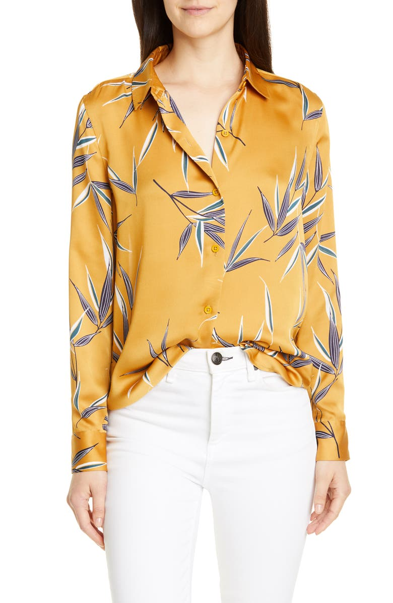 Essential Print Blouse by Equipment