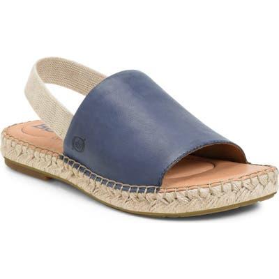 B?rn San Isabel Slingback Sandal, Blue