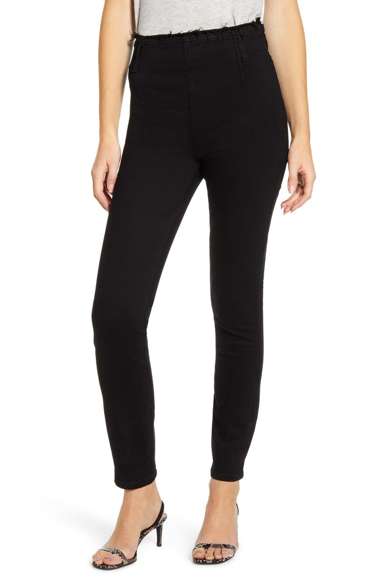 NOBODY DENIM Moda High Waist Skinny Jeans, Main, color, DEEP