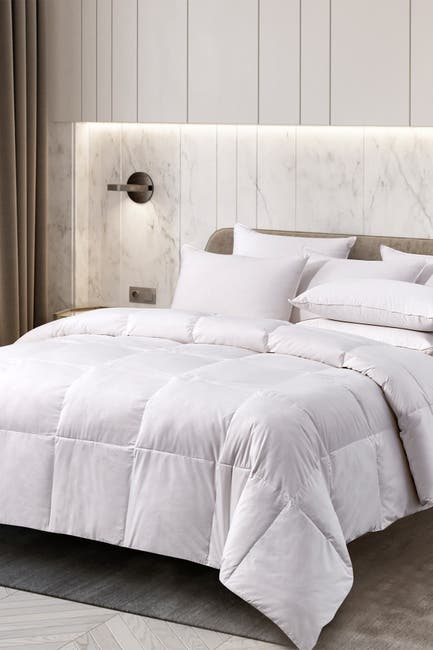 Image of Blue Ridge Home Fashions Cannon Light Warmth Goose Feather & Down Fiber Comforter - King - White