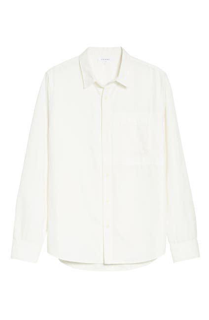 Image of FRAME Patch Pocket Slim Fit Button Down Shirt