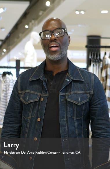 Lace-Up Hem Crop Bootcut Jeans, sales video thumbnail