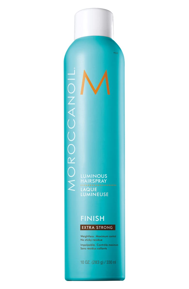 MOROCCANOIL<SUP>®</SUP> Luminous Spray Extra Strong, Main, color, NO COLOR