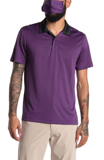Image of Society Of Threads Solid Performance Polo Shirt
