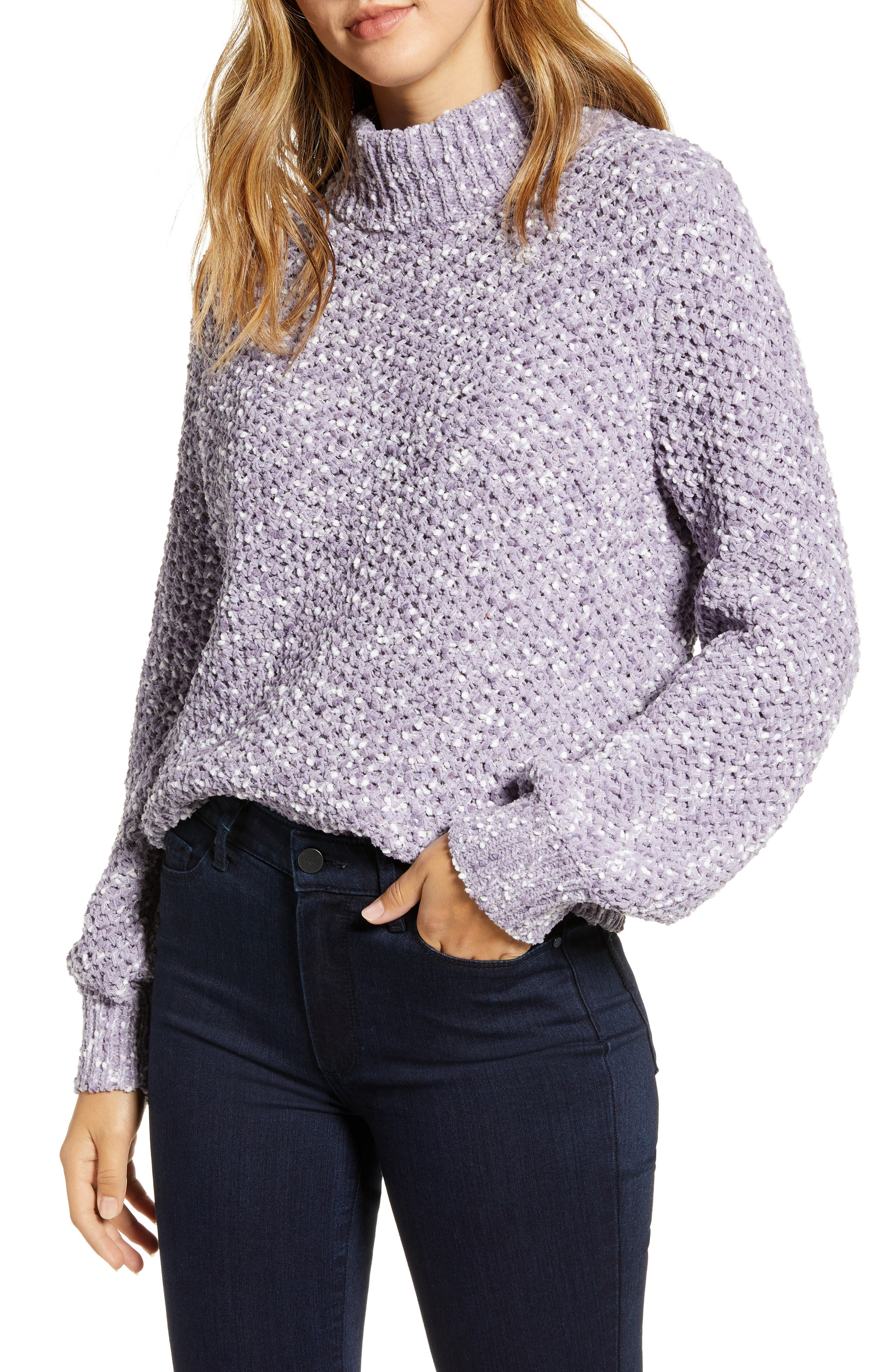 Caslon® Mock Neck Pullover
