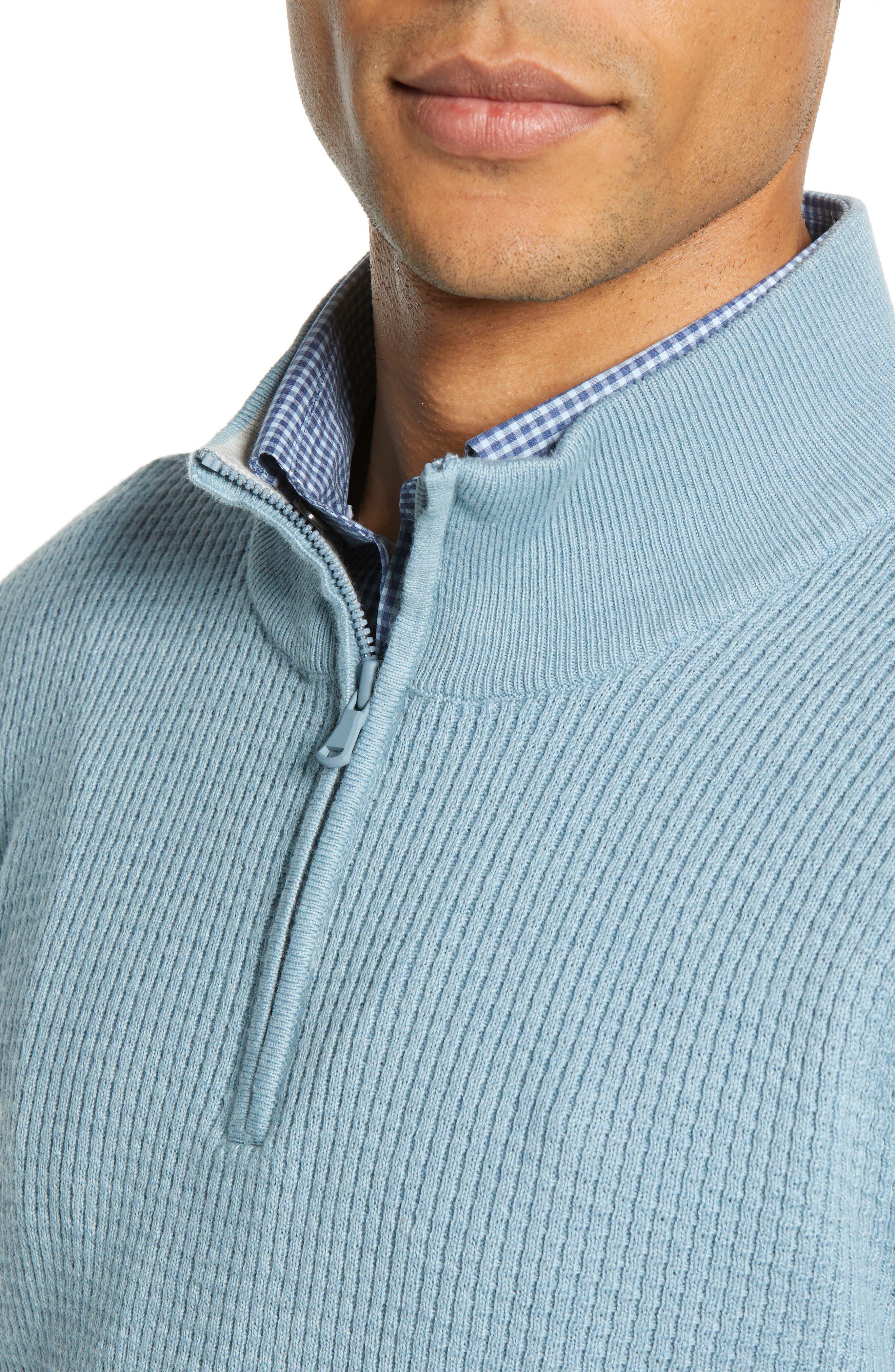 ,                             Higgins Quarter Zip Sweater,                             Alternate thumbnail 22, color,                             444