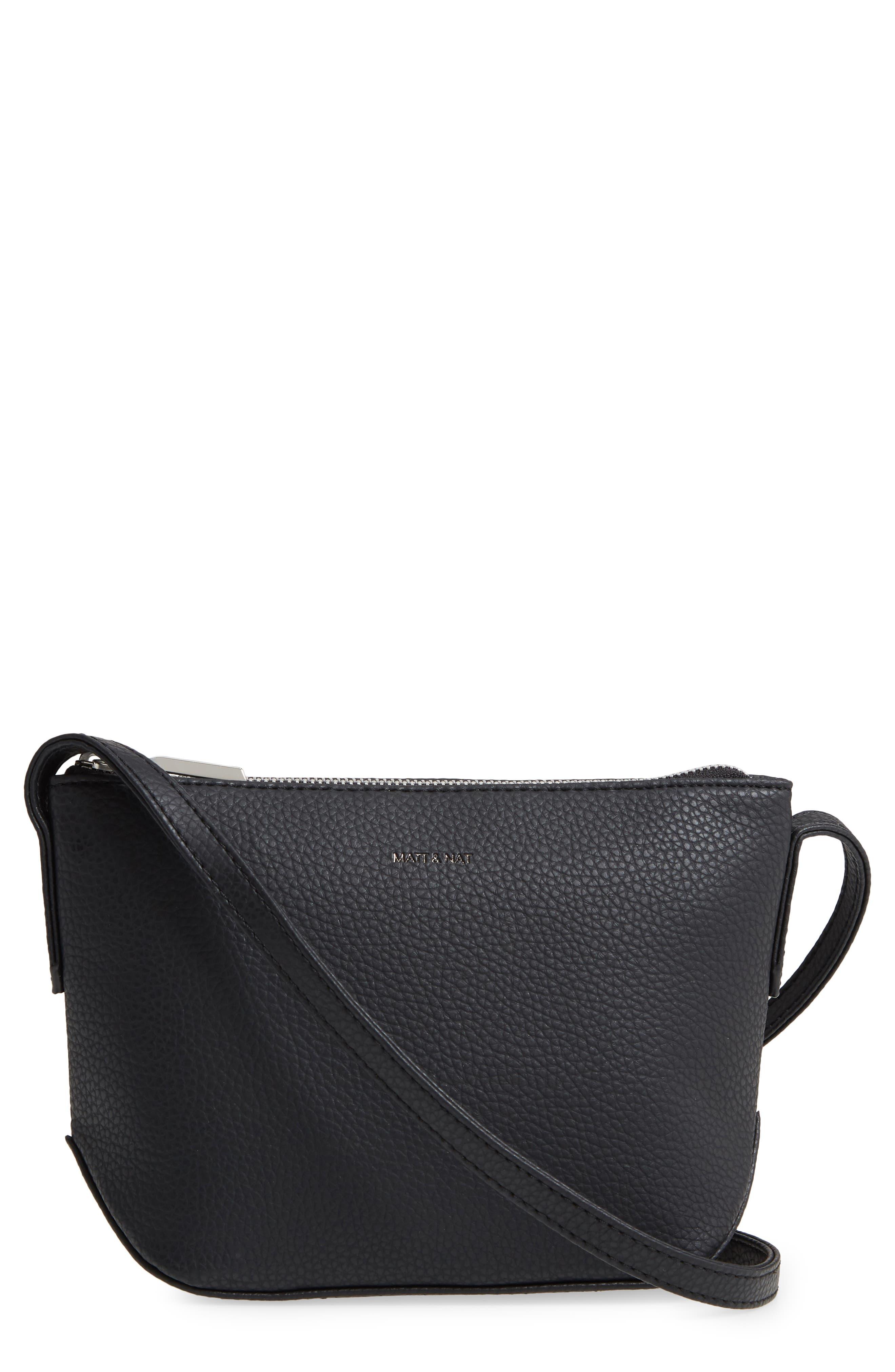 Sam Vegan Leather Crossbody Bag
