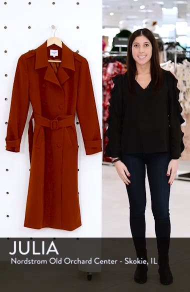 Chriselle Lim Chloe Trench Coat, sales video thumbnail