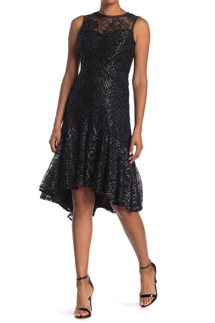 Image of Taylor Lace High/Low Dress