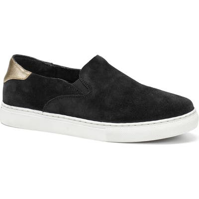 Trask Litton Slip-On Sneaker, Black