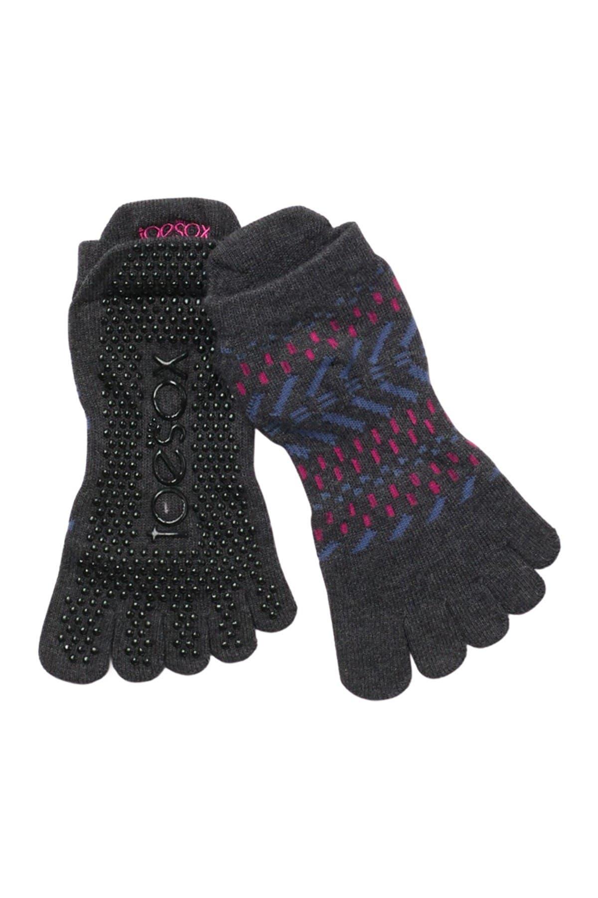 Image of ToeSox Full Toe Low Rise Grip Socks