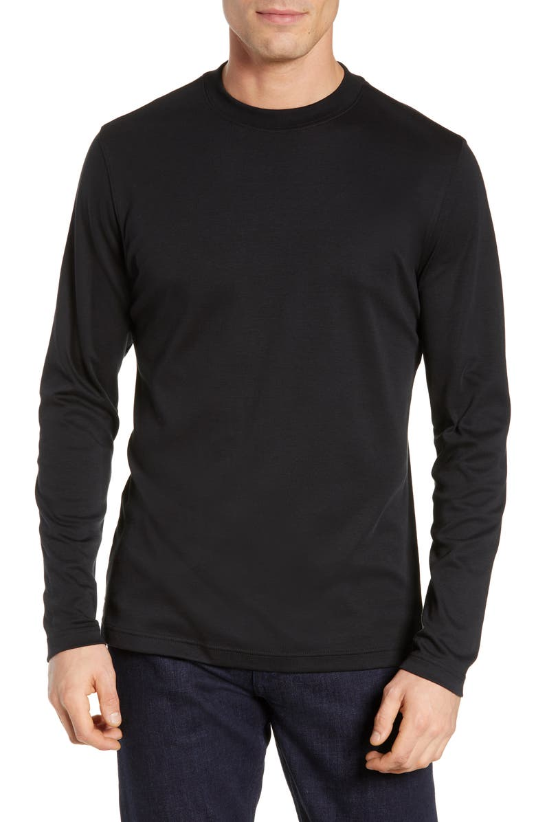 ROBERT BARAKETT Georgia T-Shirt, Main, color, BLACK