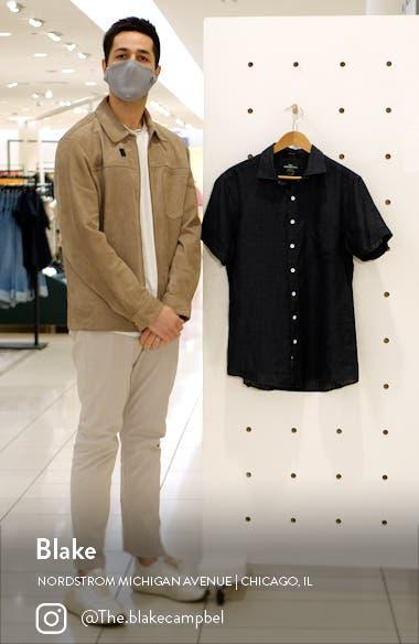 Regular Fit Ellerslie Linen Shirt, sales video thumbnail