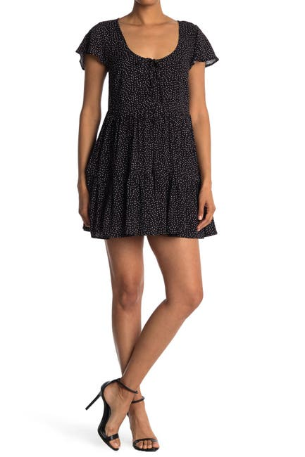 Image of Abound Printed Skater Dress