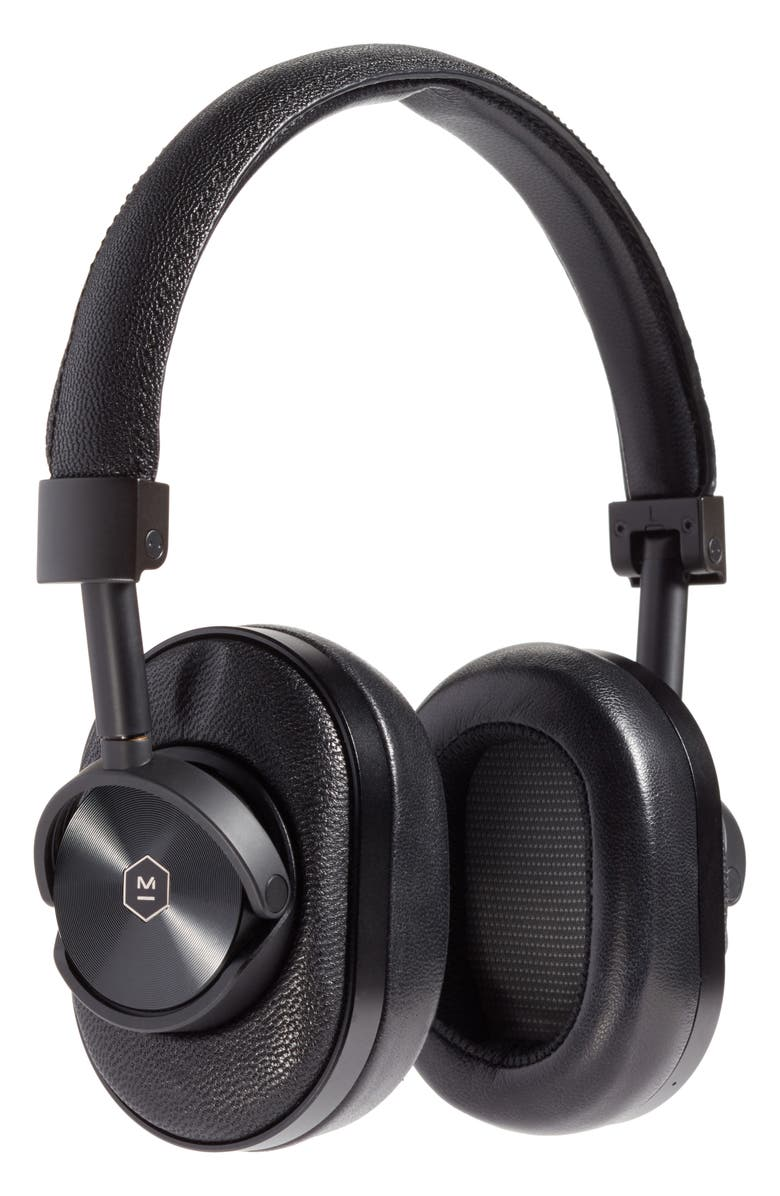 MASTER & DYNAMIC MW60 Wireless Over-Ear Headphones, Main, color, BLACK/BLACK