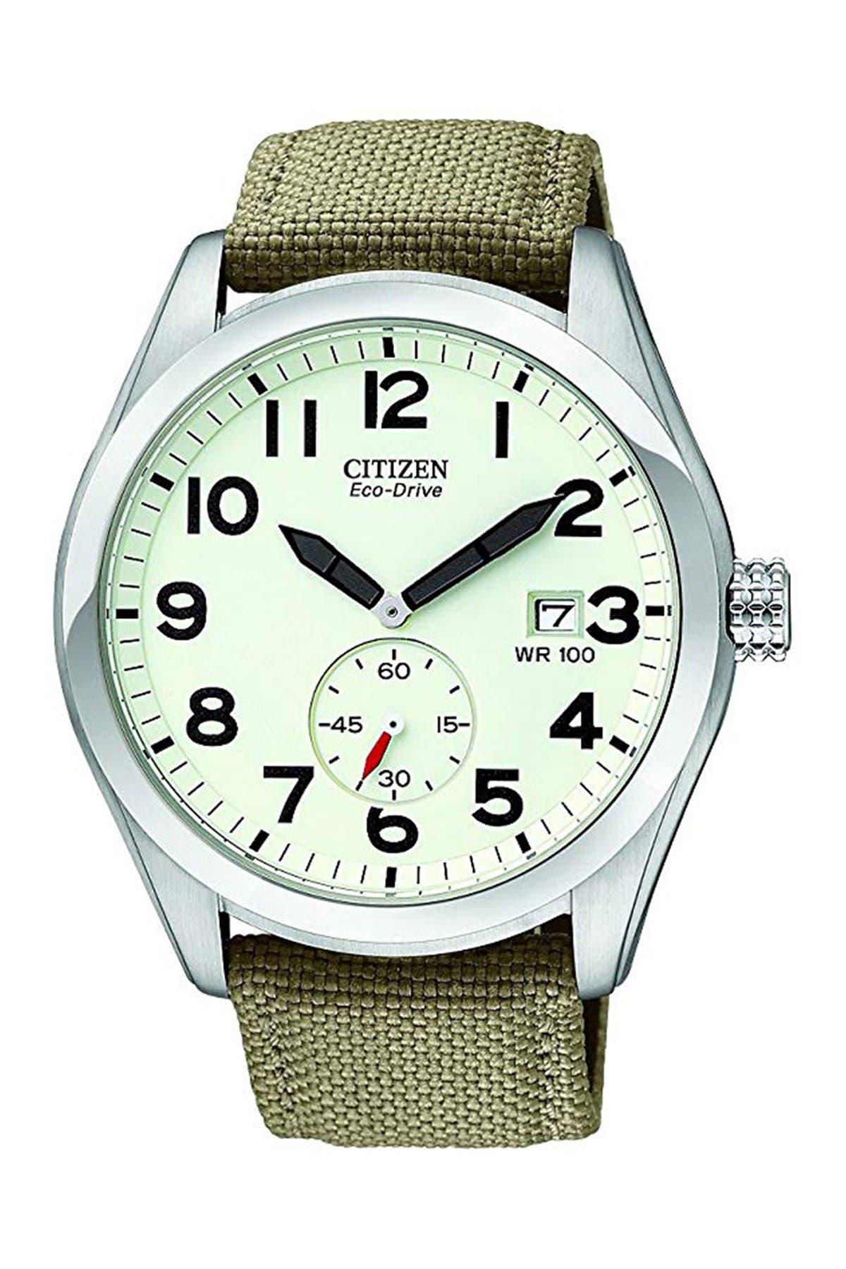 Image of Citizen Men's  Eco-Drive Nylon Sport Watch, 43mm