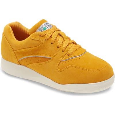 Hush Puppies Upbeat Sneaker- Yellow