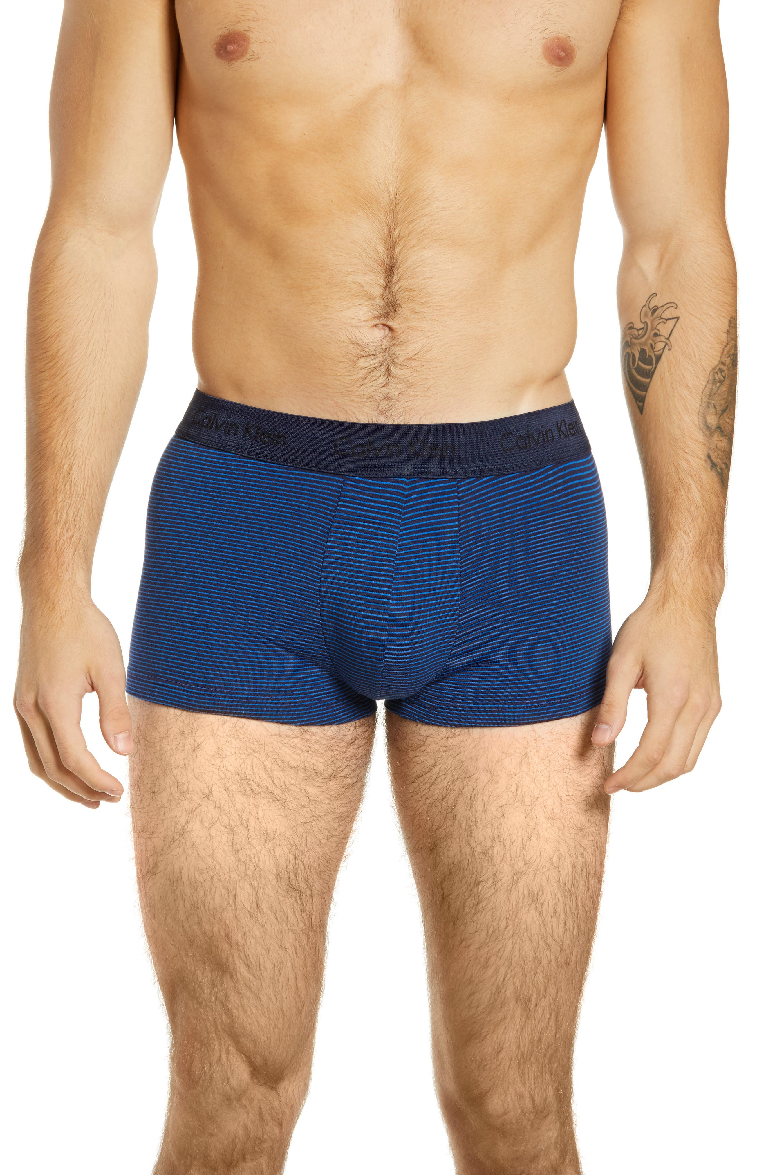 ,                             3-Pack Stretch Cotton Low Rise Trunks,                             Alternate thumbnail 180, color,                             439