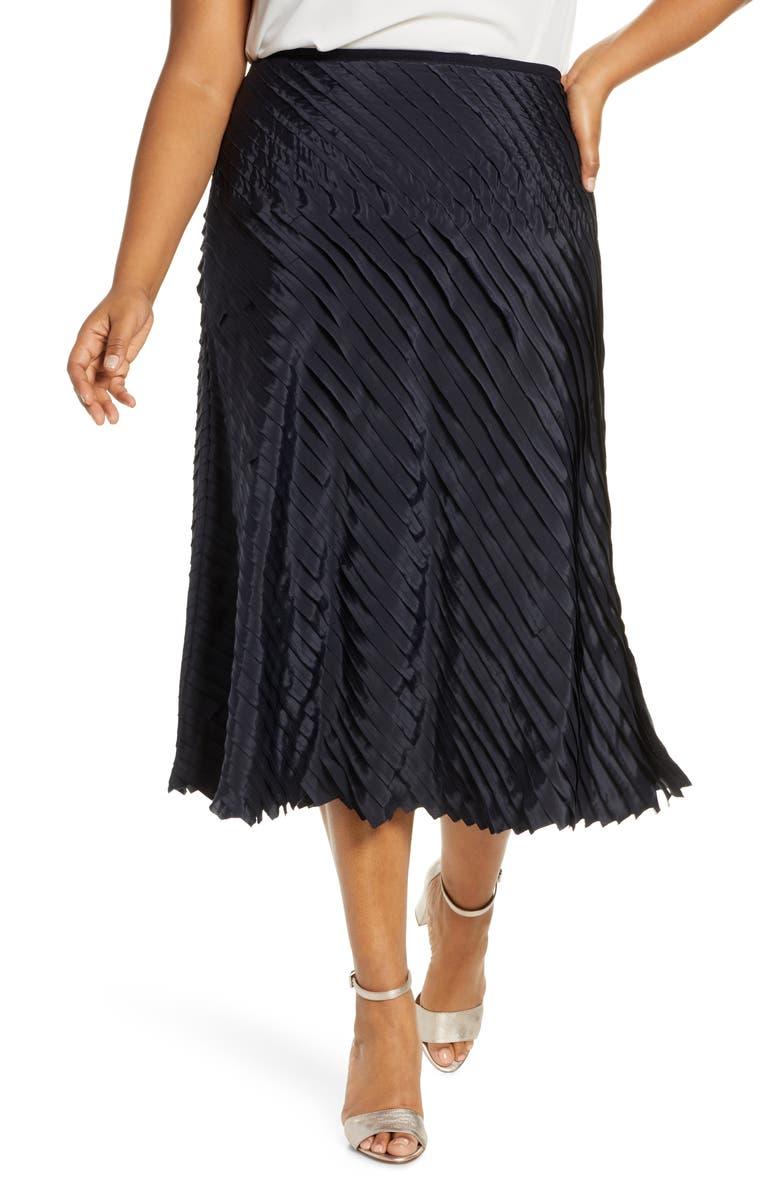 NIC+ZOE Fiesta Skirt, Main, color, MIDNIGHT