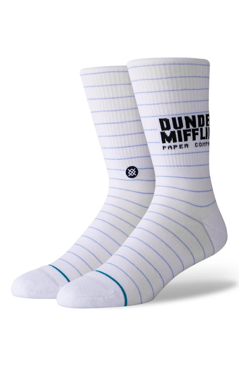 STANCE Vance Refrigeration Socks, Main, color, WHITE