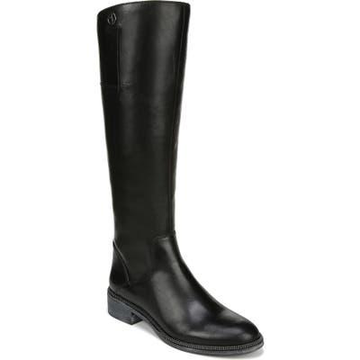 Franco Sarto Becky Knee High Boot Wide Calf- Black