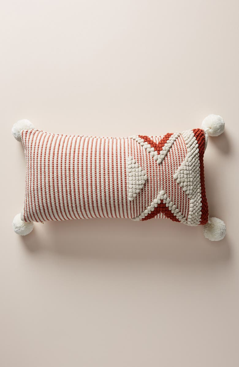 ANTHROPOLOGIE Astor Accent Pillow, Main, color, 100